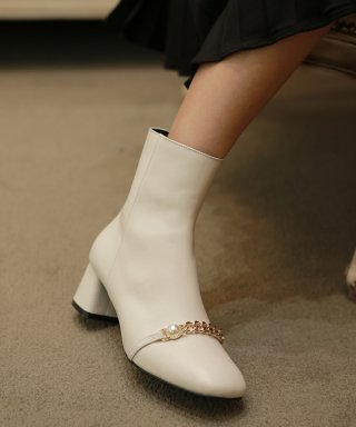 리플라(lifla) 19B409 cream ankle