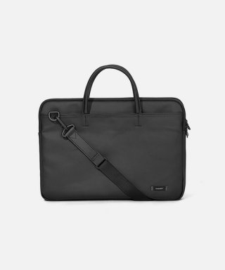 스위치(sweetch) DOUBLE SLIM BRIEFCASE Black