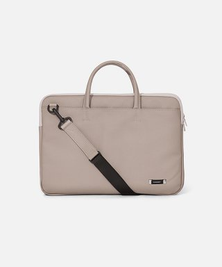 스위치(sweetch) DOUBLE SLIM BRIEFCASE Grey