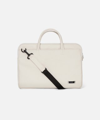 스위치(sweetch) DOUBLE SLIM BRIEFCASE White