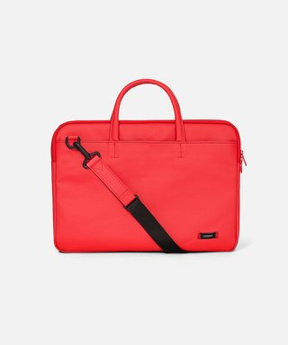 스위치(sweetch) DOUBLE SLIM BRIEFCASE Red