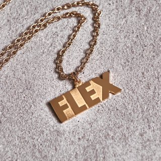프루와(froid) FLEX GOLD Necklace Type2
