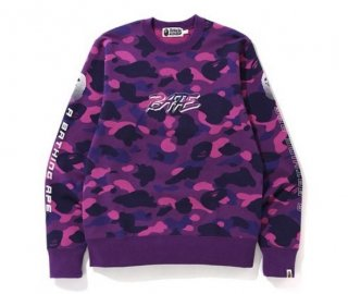 베이프(bape) COLOR CAMO CREWNECK