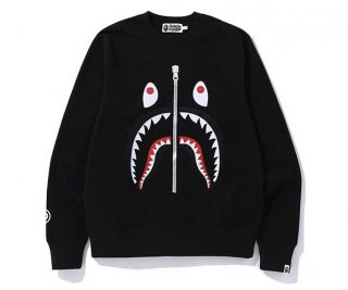 베이프(bape) SHARK CREWNECK