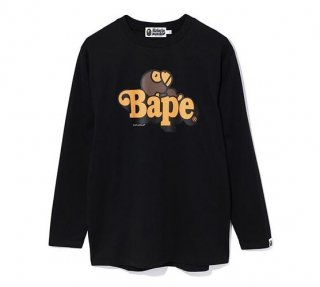 베이프(bape) MILO ON BAPE OVERSIZED L/S TEE L