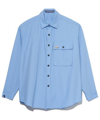 홈보이고잉(homboigoing) OFFICE SHIRTS BLUE