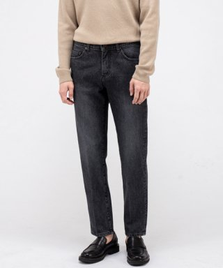 브랜디드(branded) 1960 BLACK YARD JEANS [CROP STRAIGHT]