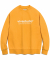 ORIGINAL LOGO CREWNECK JS [ORANGE]