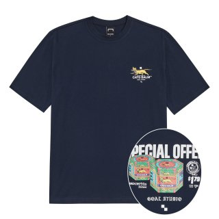 골스튜디오(goalstudio) MC BALM GRAPHIC TEE - NAVY