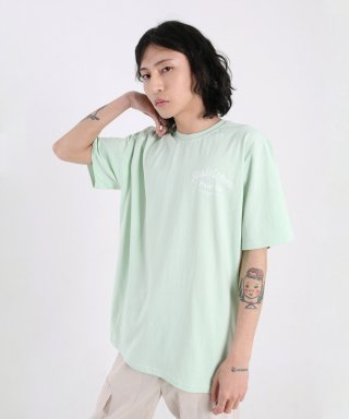 스테디콤마(steadycomma) Pour toi Arch SHORT SLEEVE T-shirt MINT
