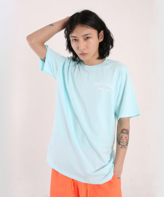 스테디콤마(steadycomma) Pour toi Arch SHORT SLEEVE T-shirt SKYBLUE
