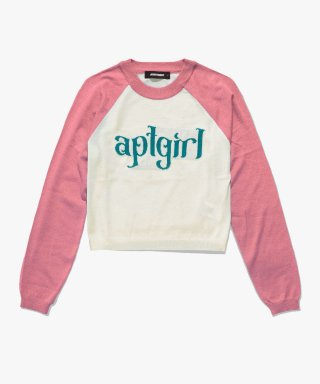 아파트먼트(apartment) (W) GRATIFY KNIT - PINK