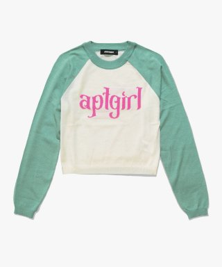 아파트먼트(apartment) (W) GRATIFY KNIT - MINT
