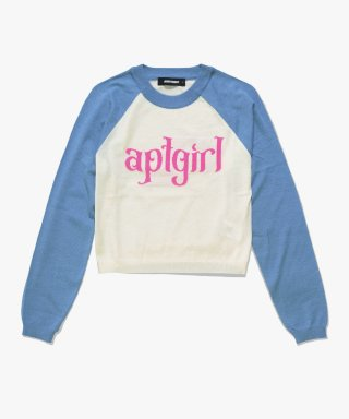 아파트먼트(apartment) (W) GRATIFY KNIT - BLUE