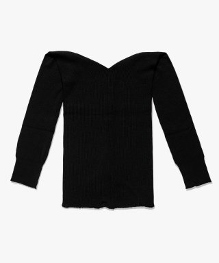 아파트먼트(apartment) (W) HARI KNIT - BLACK