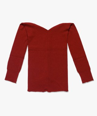 아파트먼트(apartment) (W) HARI KNIT - BURGUNDY