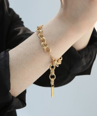 위트홀리데이(witholiday) gold layer chain bracelet