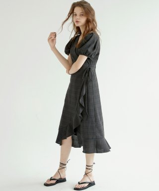 블랭크(blank) LALA DRESS-BK