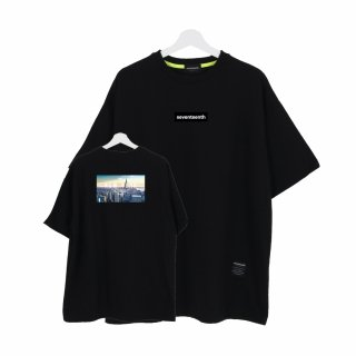 세븐틴스(seventeenth) CITY VIEW NEW YORK TSHIRTS 블랙