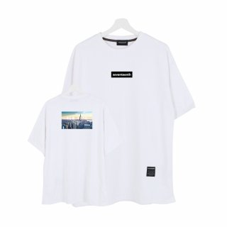 세븐틴스(seventeenth) CITY VIEW NEW YORK TSHIRTS 아이보리