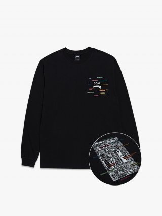골스튜디오(goalstudio) CFC LOCKER ROOM LONG SLEEVE TEE
