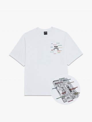 골스튜디오(goalstudio) CFC LOCKER ROOM TEE - WHITE