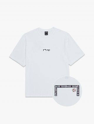 골스튜디오(goalstudio) CFC LOGO TEE - WHITE