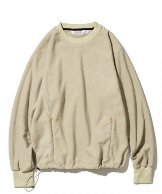 유니폼브릿지(uniformbridge) utility fleece L/S tee beige