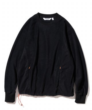 유니폼브릿지(uniformbridge) utility fleece L/S tee black