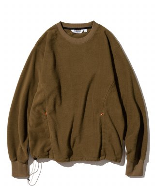유니폼브릿지(uniformbridge) utility fleece L/S tee brown