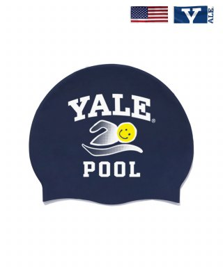 예일(yale) IVY LEAGUE POOL SWIMMING CAP NAVY