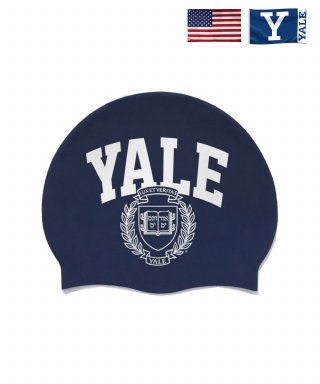 예일(yale) EMBLEM SWIMMING CAP NAVY