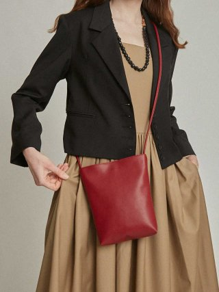필인더블랭크(fillintheblank) sister sunday bag (burgundy)