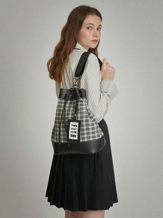 필인더블랭크(fillintheblank) Sister Yoko Bucket Bag (M)(check2)