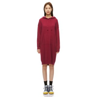베네통(benetton) Hoodie knit dress_1044V249708M