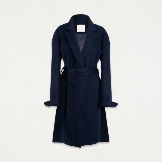 매드고트(madgoat) Hidden Button Easy Coat_Sea navy