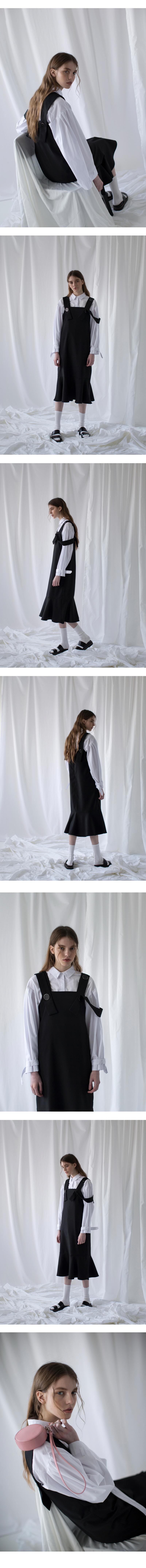 논로컬(NONLOCAL) Bouton Flare Dress