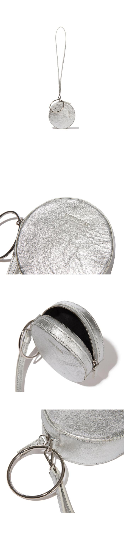 논로컬(NONLOCAL) Ring Ring Bag-Shilver