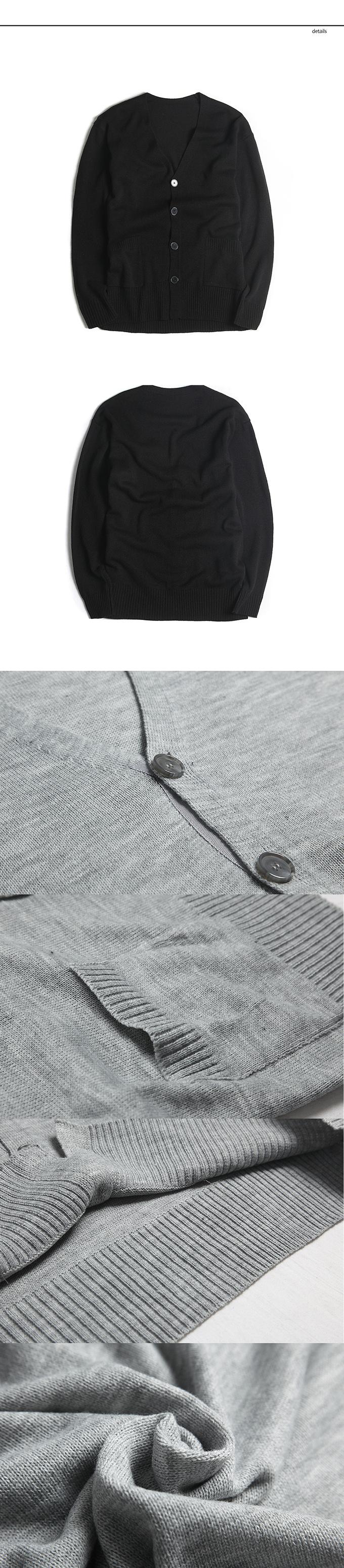 Overlong cardigan(Black) detail.jpg