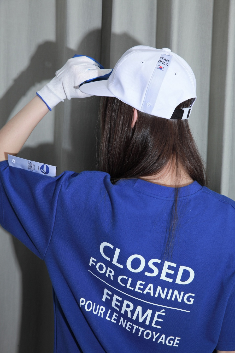 스텝온리(STAFFONLY) CLOSED (BLUE)
