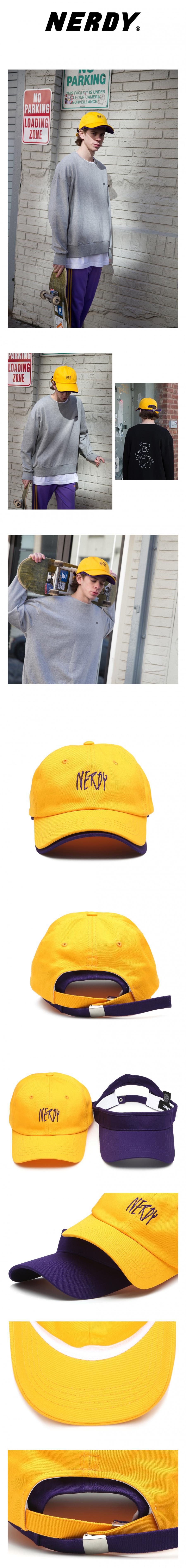 널디(NERDY) NY LAYERED CAP YELLOW
