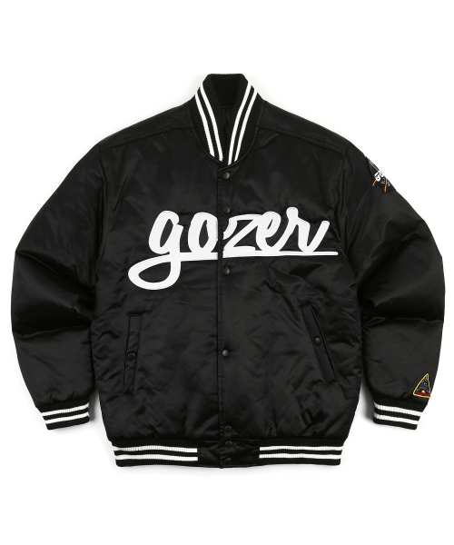 고저(GOZER) GOZER STADIUM JUMPER_BLACK