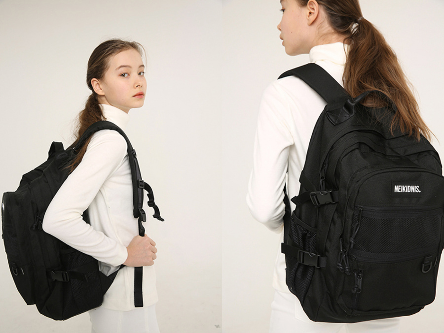 네이키드니스(NEIKIDNIS) ABSOLUTE BACKPACK / BLACK