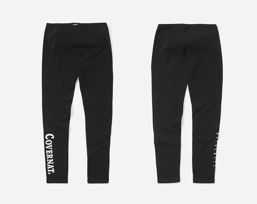 커버낫(COVERNAT) AUTHENTIC LOGO LEGGINGS