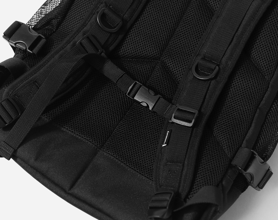 커버낫(COVERNAT) CORDURA RUCK SACK BLACK