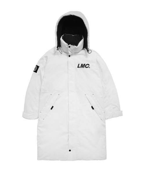 엘엠씨(LMC) LMC CO TEAM PADDED LONG PARKA white