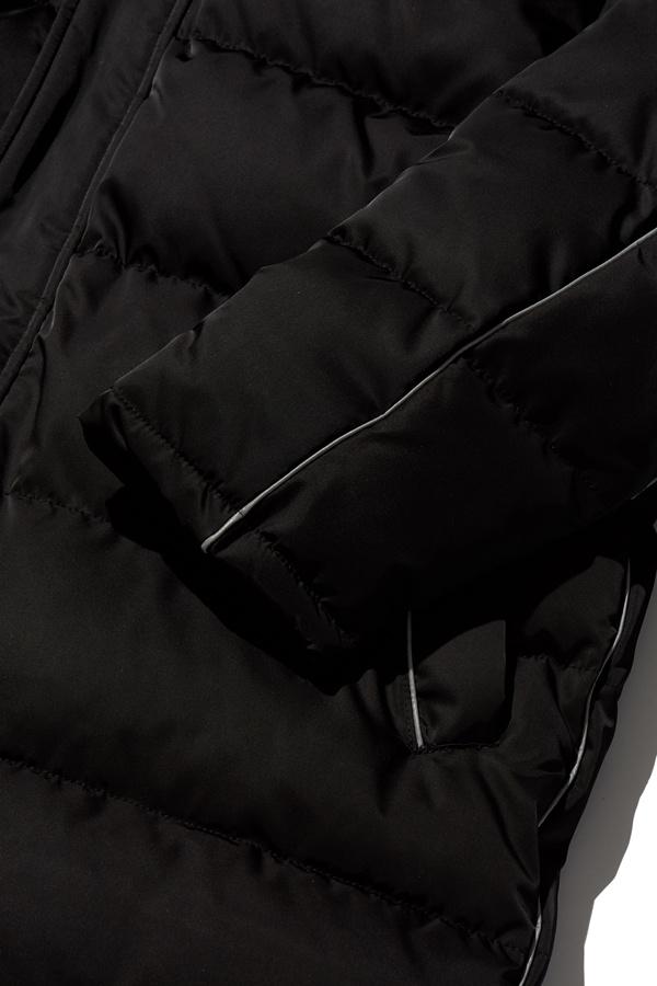 오베르(OVERR) ESSAY.3 BLACK SCOTCH LONG DOWN PADDING
