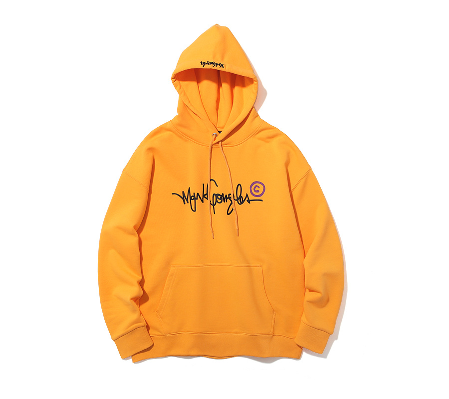 마크 곤잘레스(MARK GONZALES) M/G COPYRIGHT LOGO HOODIE YELLOW