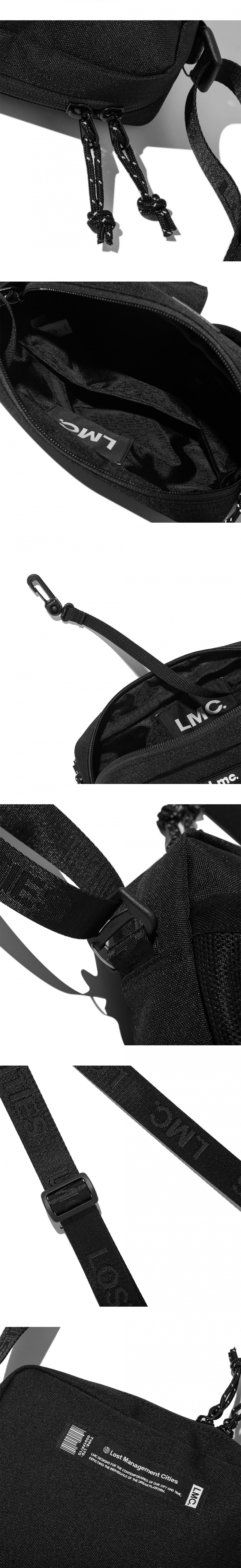엘엠씨(LMC) LMC MINI CROSS BAG black