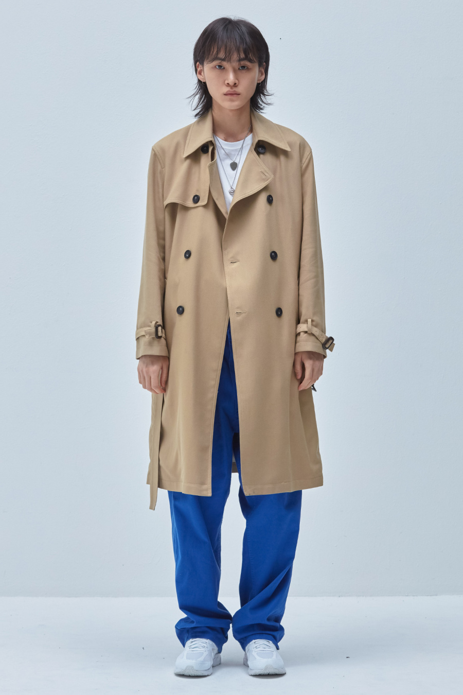 이스트쿤스트(IST KUNST) TATE LONG TRENCH COAT 베이지(IK1JSMC810A)